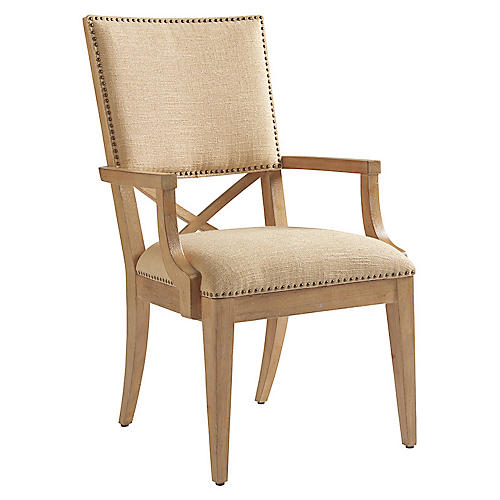 Alderman Armchair, Taupe