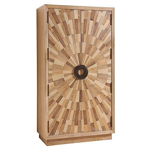 Pavillion Cabinet, Natural