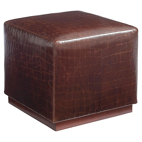Colby Cube, Saddle Leather
