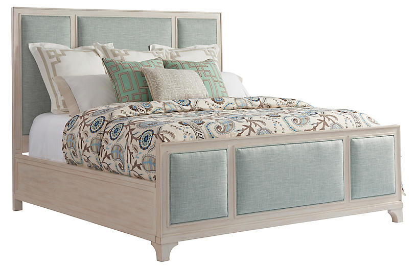 Crystal Cove Bed, Sea Glass