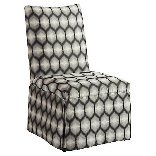 Mackenzie Side Chair, Onyx