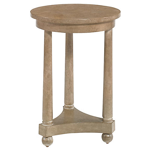 Honere Spot Side Table, Belgian Gray