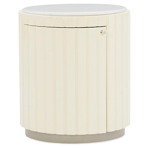 Tranquil Side Table, Almost White