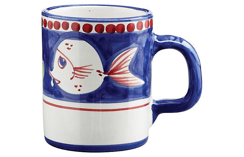 Pesce Mug, White