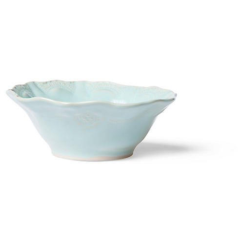 Incanto Stone Lace Cereal Bowl, Aqua