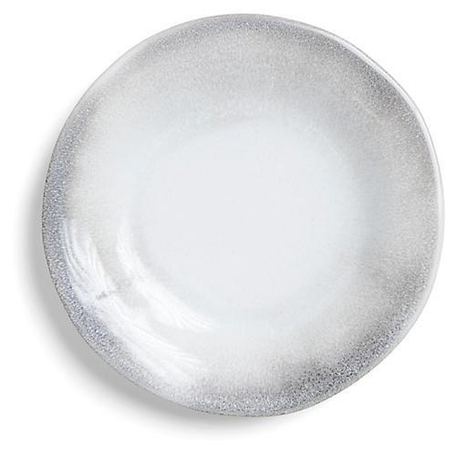 Aurora Dinner Plate, Ash