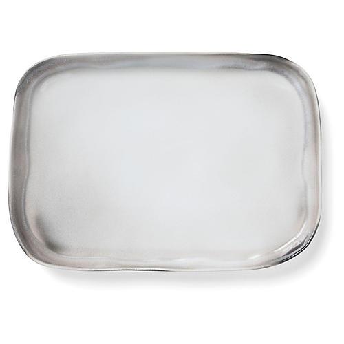 Aurora Rectangular Platter, Ash