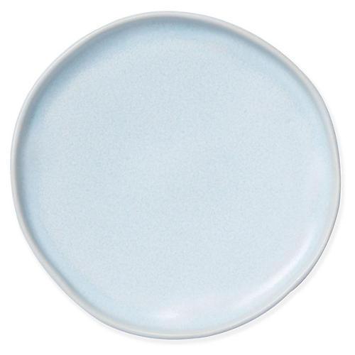 Essentials Round Vanity Tray, Matte Blue