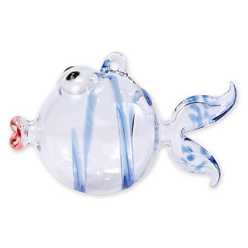 Fish Ornament, Blue