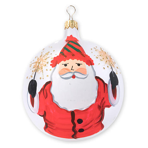 Old St. Nick 2018 Limited Edition Ornament, White