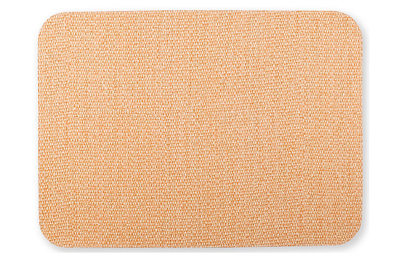 Reversible Place Mat, Green/Coral