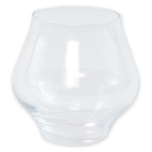 Contessa Stemless Wineglass, Clear