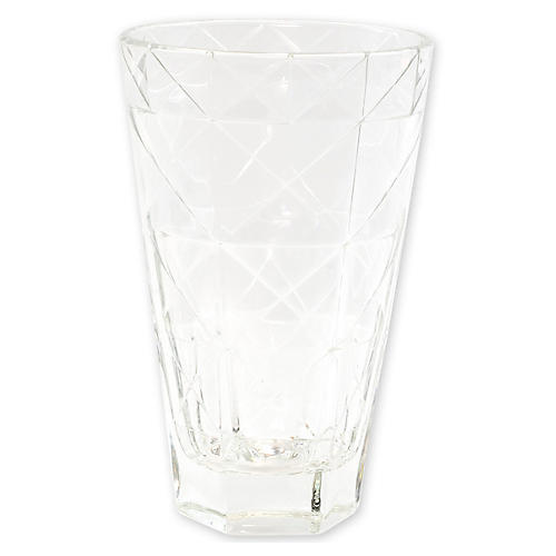 Prism Tall Tumbler, Clear
