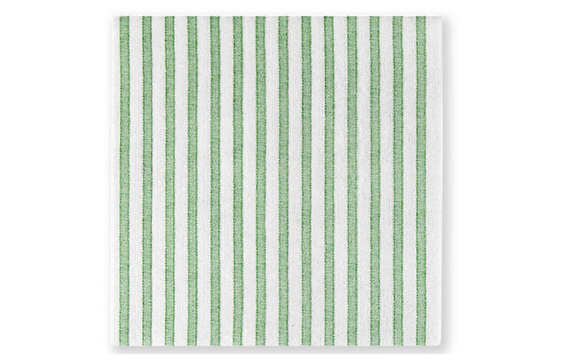 S/20 Papersoft Capri Cocktail Napkins, Green