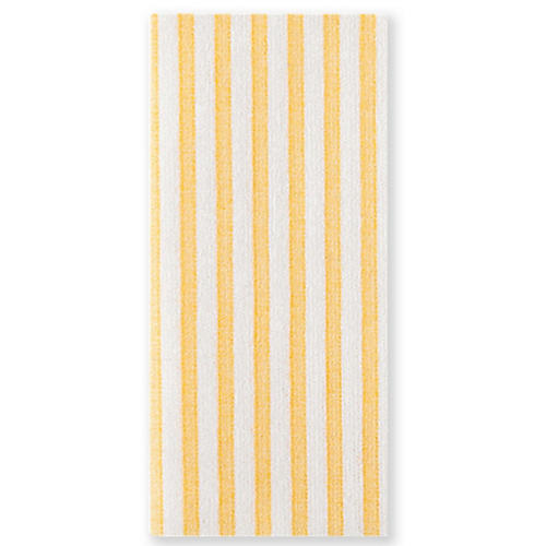 S/50 Papersoft Capri Guest Towels, Yellow