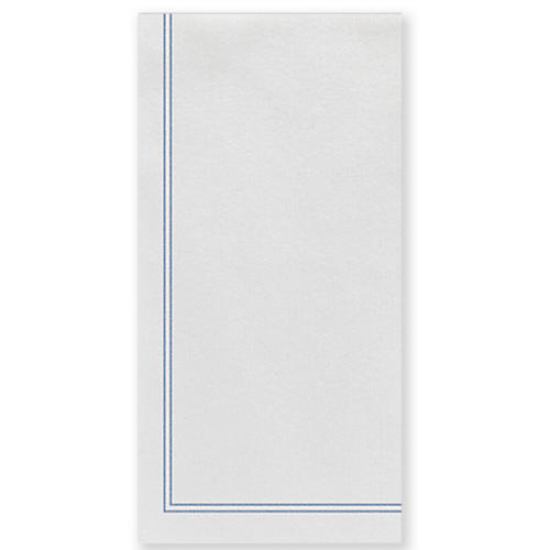 S/50 Papersoft Linea Guest Towels, Blue