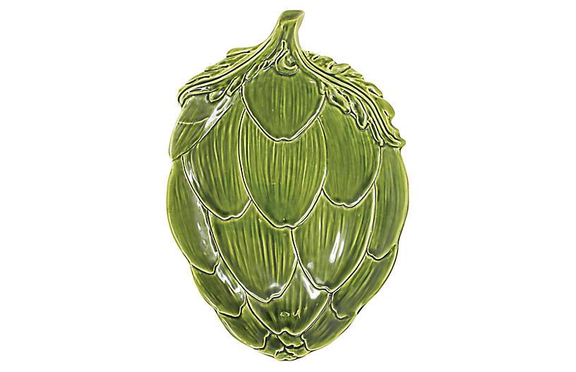 Artichoke Platter, Green