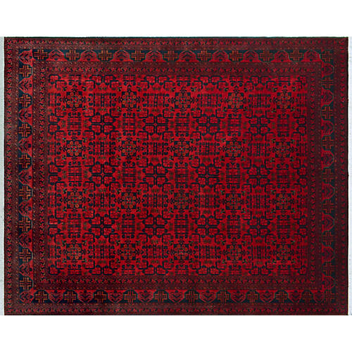 "8'7""x11'6"" Rayne Rug, Red/Multi"