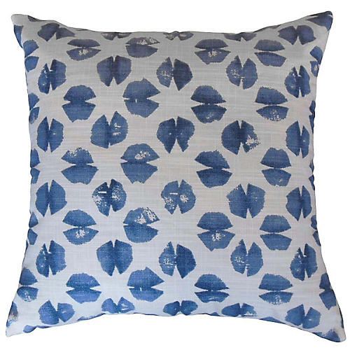 Ali Pillow, Blue/White