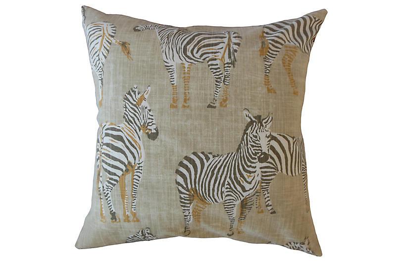 Akia 18x18 Pillow, Beige