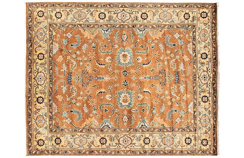 8'x10' Jules Serapi Handmade Rug, Brown