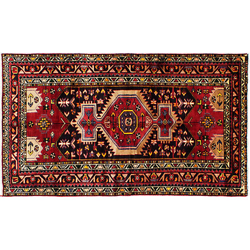 "3'10""x6'8"" Gianna Rug, Red"
