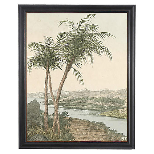 Egyptian Palms I