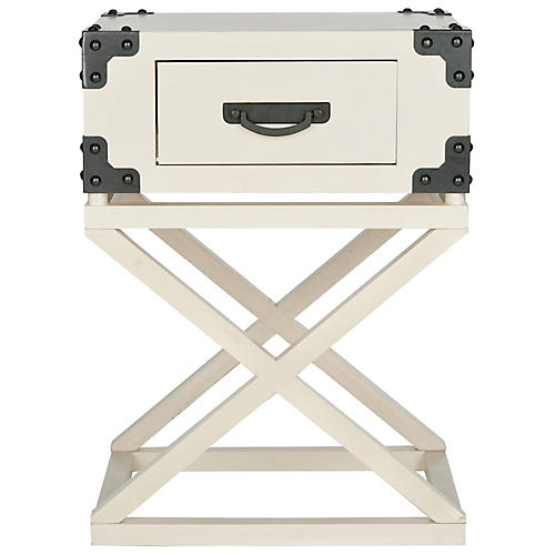 Valencia Nightstand, White