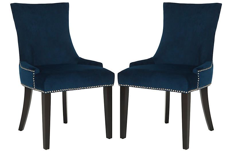 Indigo Lydia Chairs - Set of 2