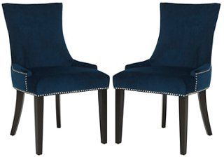 Indigo Lydia Chairs, Set Of 2   Dining Chair Sets   Dining Chairs   Dining  Room   Furniture | One Kings Lane