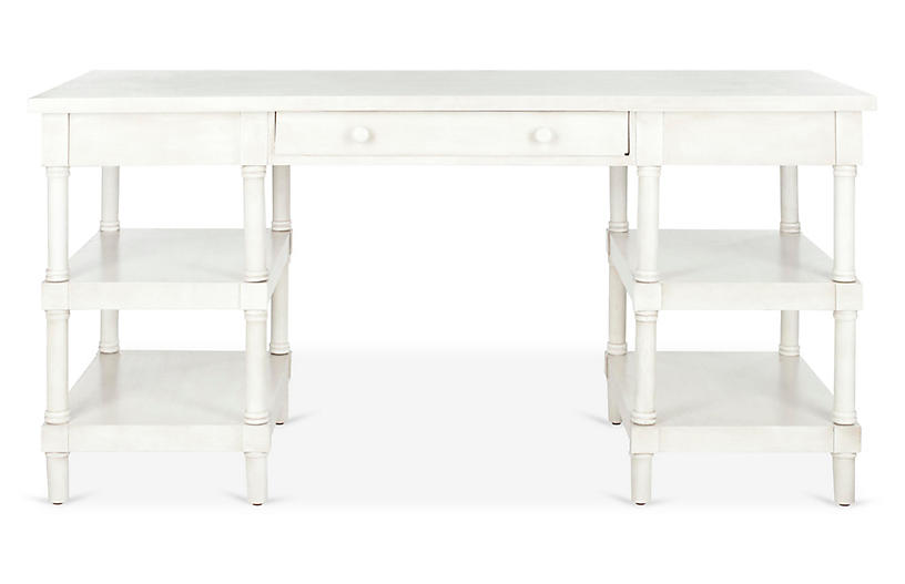 Nobles Desk, Whitewash