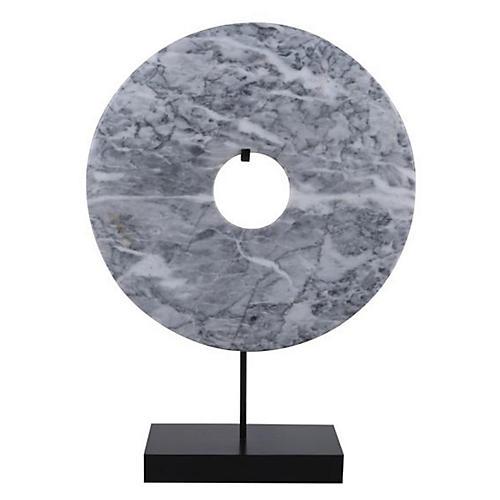 Disk Statue, Gray