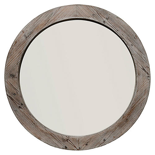 Watson Wall Mirror, Natural