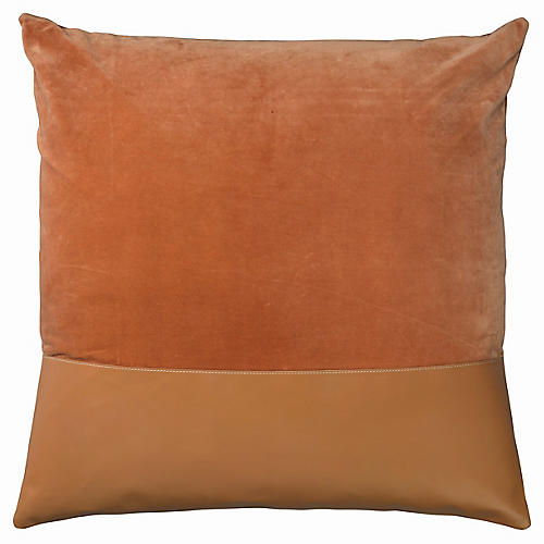 Aria 24x24 Pillow, Buff
