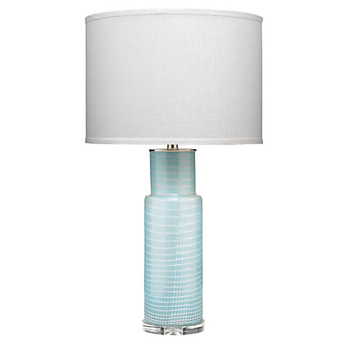 Atwater Table Lamp, Sky Blue
