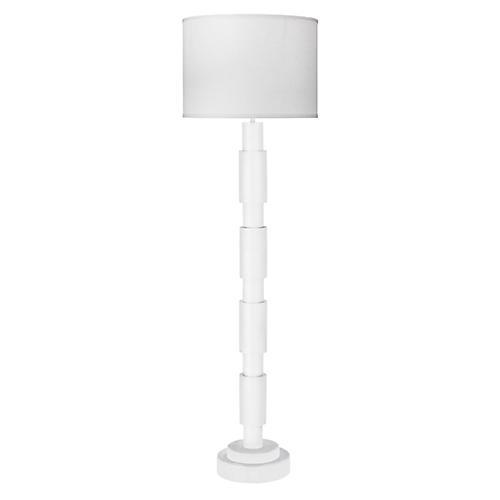 Quinn Floor Lamp, White