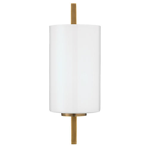 Blueprint Sconce, White