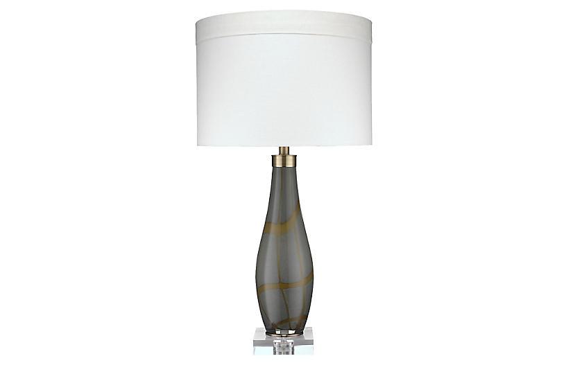 Boa Table Lamp, Taupe