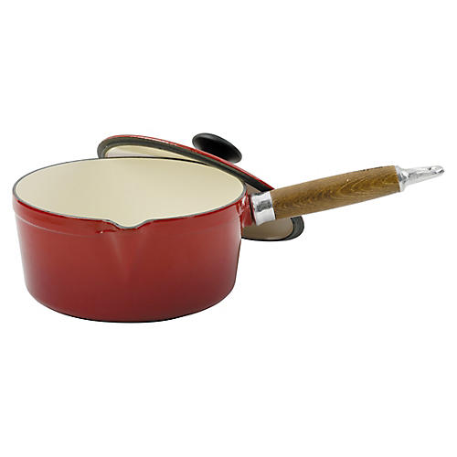 Chasseur Sauce Pan, Red