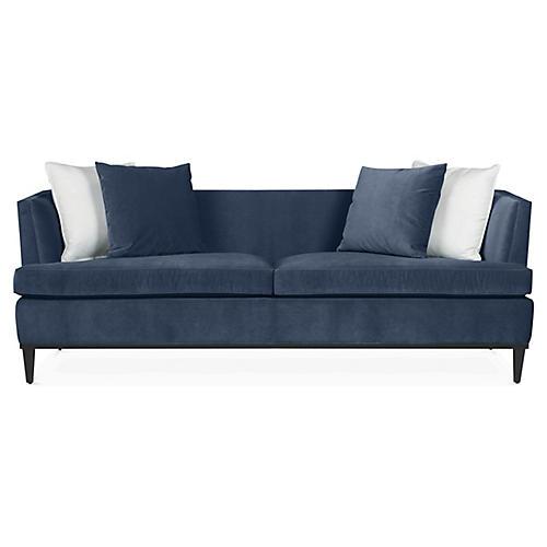 Monroe Sofa, Indigo