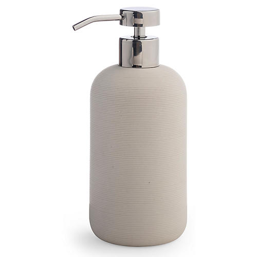 Fillmore Lotion Dispenser, Ivory