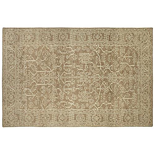 Everest Rug, Khaki/Ivory