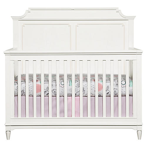 Clementine Court Crib, White