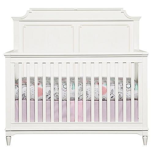 Clementine Convertible Crib, White