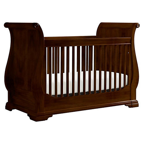 Teaberry Lane Stationary Crib, Midnight Cherry