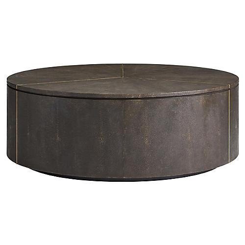 Sundial Coffee Table, Sable
