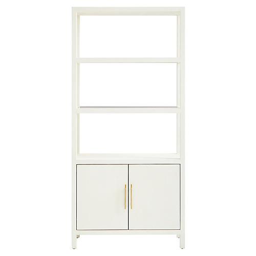 Archetype Bookcase, Pearl