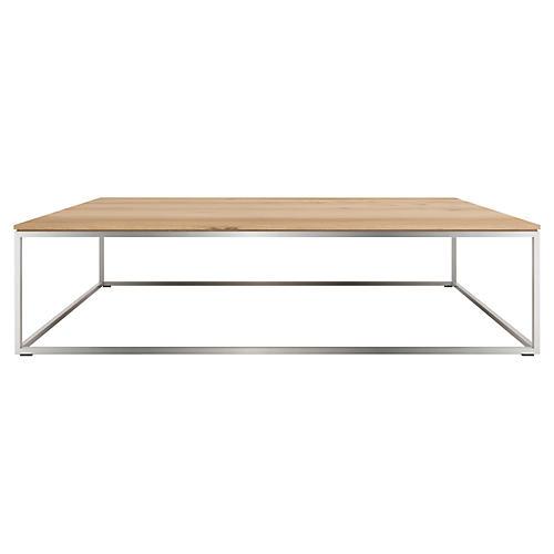 Thin Coffee Table, Oak