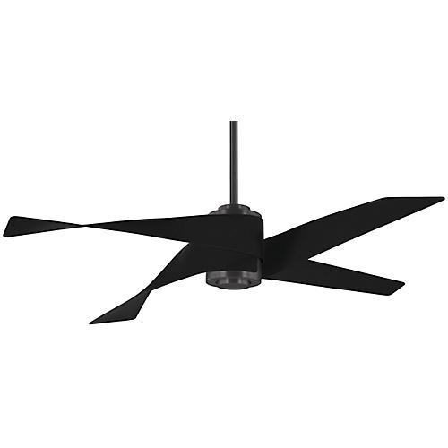 Artemis LED Ceiling Fan, Gunmetal