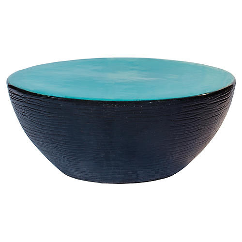 Bowness Outdoor Coffee Table, Turquoise